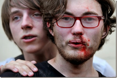 homophobic violence