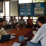 Discussion avec les représentants de la communauté de Boeung Chunlen