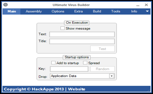 Download Ultimate Virus Builder