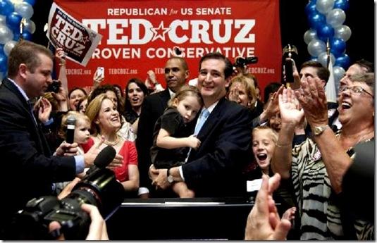 Ted Cruz Victory 7-31-12