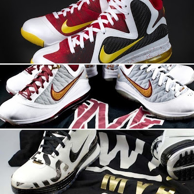 nike lebron 9 pe mvp 2 01 The Collection: LeBron James Most Valuable Player Shoes