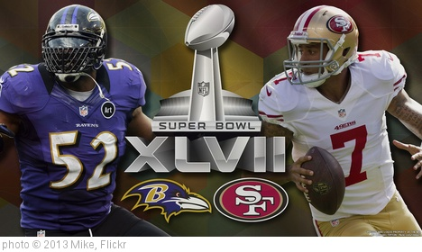 '2013 Super Bowl XLVII' photo (c) 2013, Mike - license: http://creativecommons.org/licenses/by-sa/2.0/
