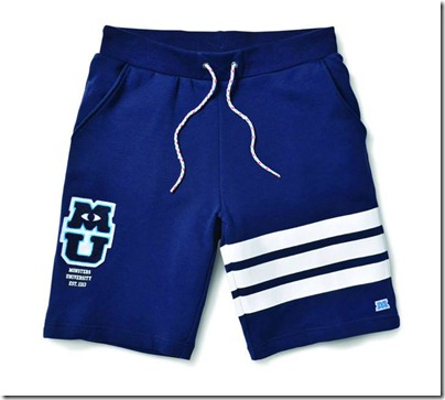 Monster University X Giordano - Blue Boardshorts