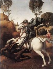 Raphael, St Georges et le dragon 1505