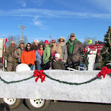 WBFJ - Advance Christmas Parade - 12-9-11
