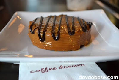 Choco Caramel Cake at Coffee Dream