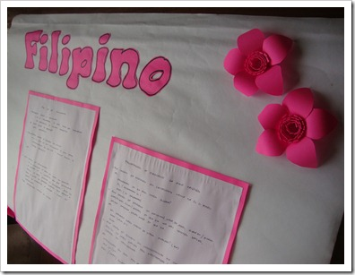 Filipino Bulletin Board
