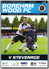 BW vs Stevenage prog
