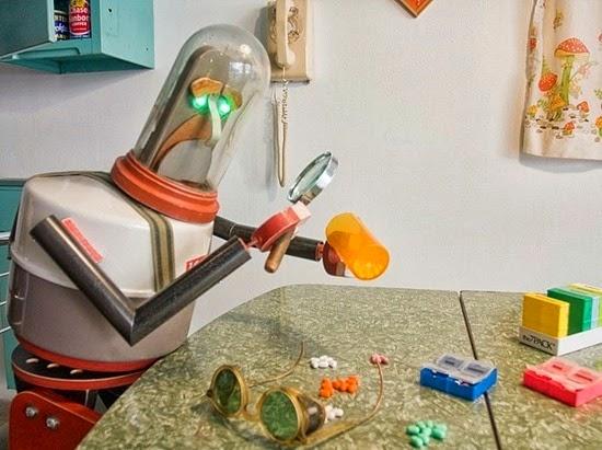 Robôs garrafas térmicas 01