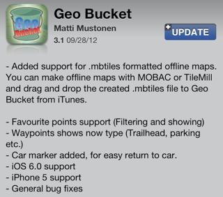 Geo Bucket version 3.1