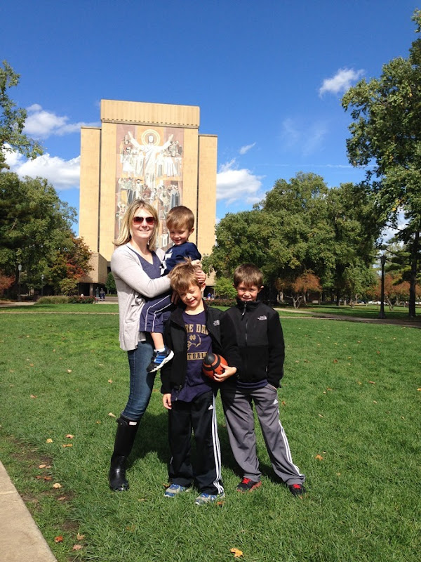 Notre Dame Game 025