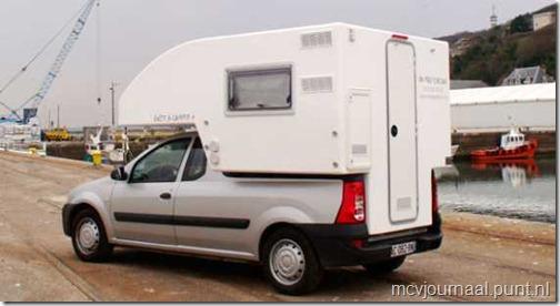 Dacia Logan Pick Up als Camper 03