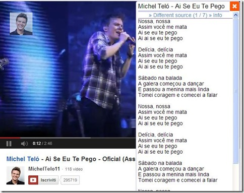 YouTube Lyrics