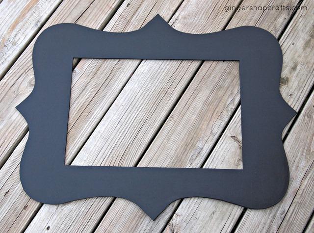 diy frame by ginger snap crafts