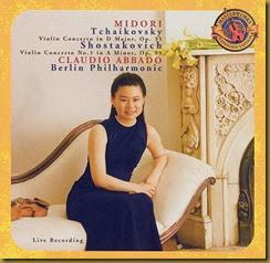 Shostakovich Concierto para violin 1 Midori Abbado