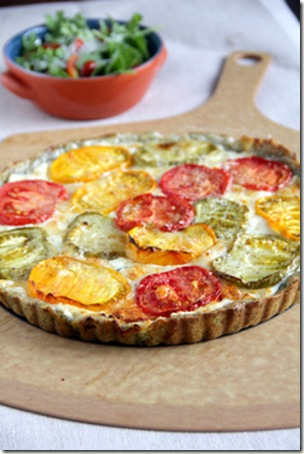 Tomato Tart Pizza