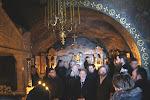 В печере покоятся преподобные Иов и Амфилохий.JPG
