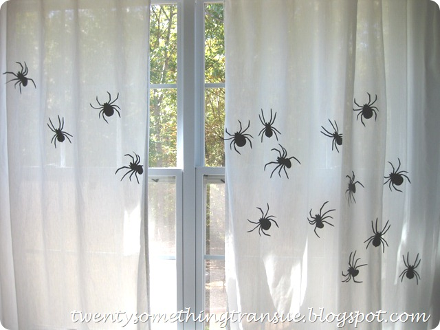 Halloween Curtains 5