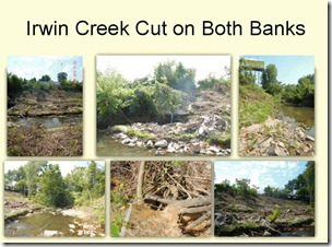 Erwin Creek Cuts