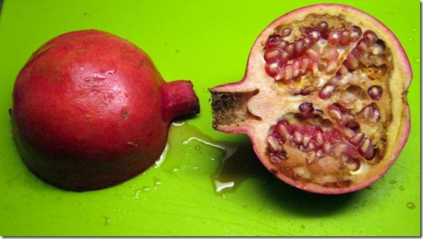 Halkaistu granaattiomena