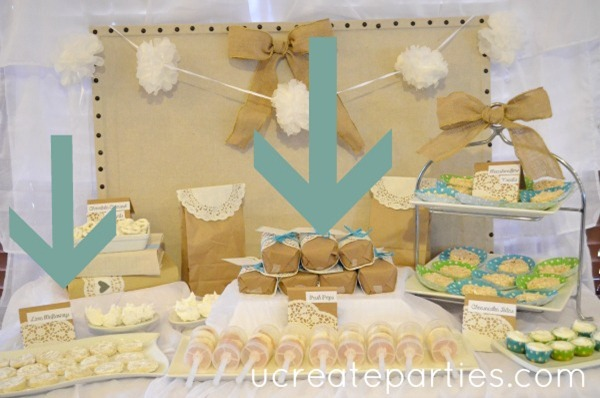 tips and tricks for a dessert table