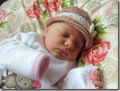 Growing in Grace: M 2 days old hat