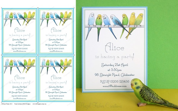 2013April10 Budgie printable invitation 2