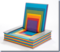 Rainbow Book Chair
