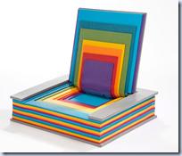 Rainbow Book Chair