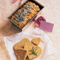 Rosemary-Oatmeal Tea Breads