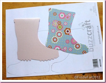 Wellington Boot card
