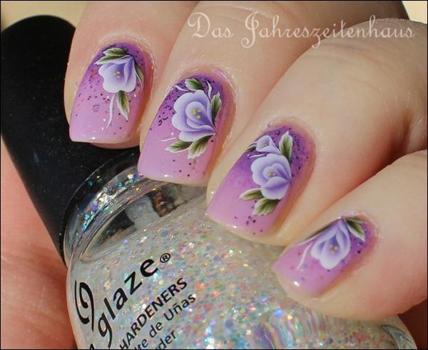 Lila Mauerblümchen 7