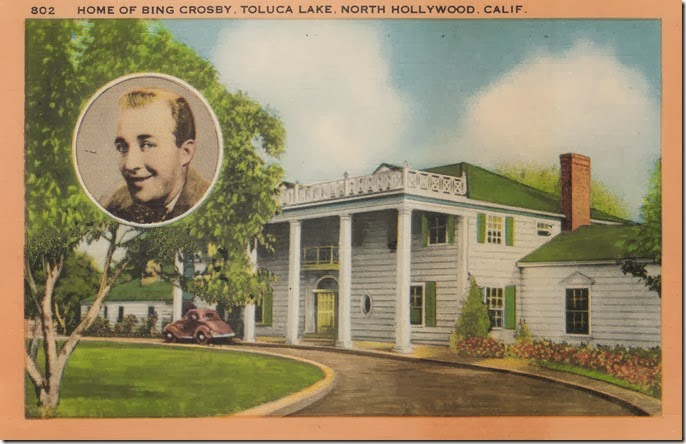 Home of Bing Crosby, Toluca Lake, North Hollywood, California Pg. 1