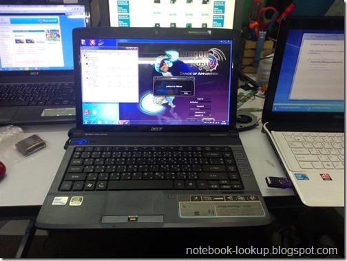 แก้ปัญหาความร้อนสูงจนเครื่องดับเองของ Acer Aspire 4736G (การ์ดจอ nVidia)