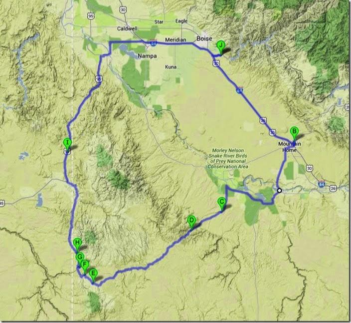 Owyhees Map