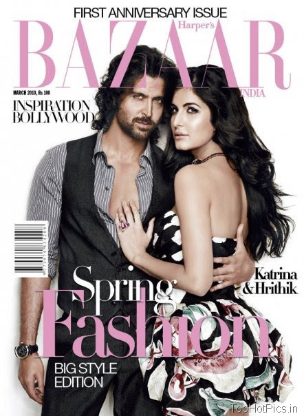 Katrina Kaif Hot Photos with Hrithik in Magazine 1