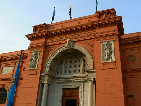 Imagini Cairo: Muzeul Egiptean, Cairo, Egipt