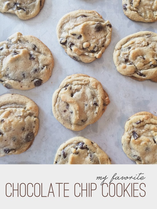 My Favorite Chocolate Chip Cookies ~ Shan Made