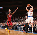 lebron james nba 130301 mia at nyk 07 LeBron Debuts Prism Xs As Miami Heat Win 13th Straight