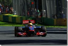 Hamilton conquista la pole del gran premio d'Australia 2012