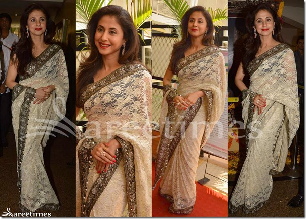 Urmila_Matondkar_Cream_Saree