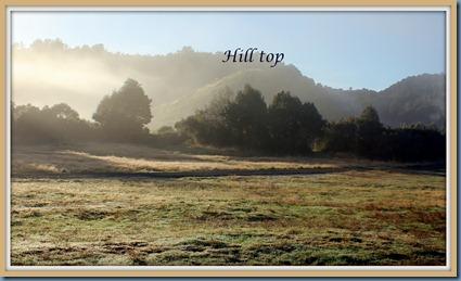 framed, hill top at Piropiro Camp