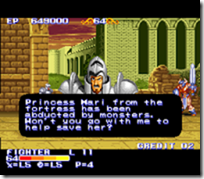 King of Dragons, snes-princesa