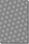 iPhone Wallpaper - Smokey Gray Dots - Sprik Space
