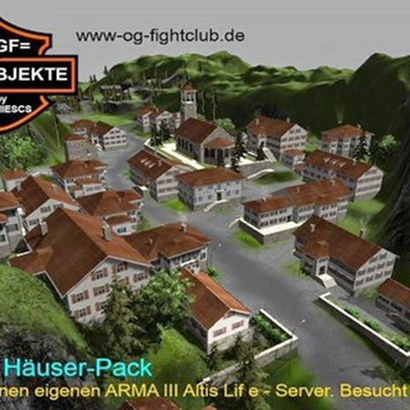 Farming simulator 2013 - OGF HOUSE PACK v 1.0