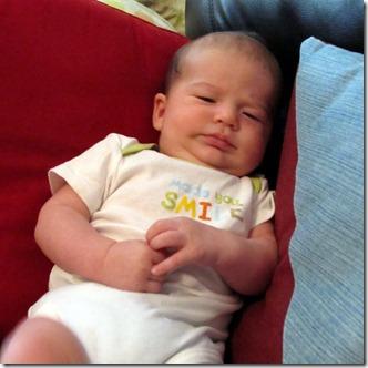 Nolan 2 months old