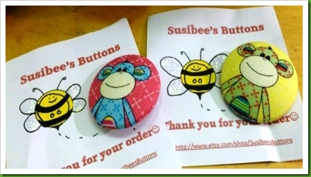etsy shop susibee's buttons