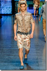 D&G Menswear Spring Summer 2012 Collection Photo 19