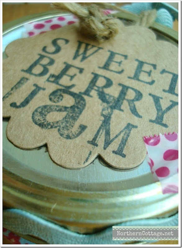 {Northern Cottage} amazing sweet berry jam
