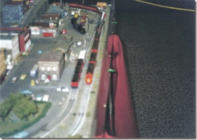 19 N-Scale Layout at the Triangle Mall in February 2000